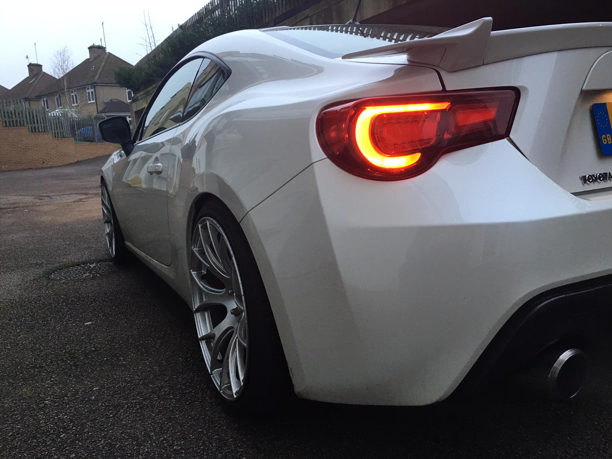 White '13 GT86 KW V3 For Sale - For Sale GT86 / BRZ Cars ...